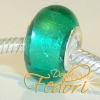 Style Bead Pure Turquoise, Glasbead