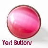 Yes! Buttons Click Button, Chunk, Druckknopf Cateye pink