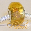 Style Bead Golden Dreams, Glasbead