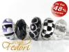 Glasbeads-Set Angebot 145 - Purple joins Black 'n White