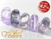 Glasbeads-Set Angebot 138 - Light violet Velvet
