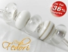 Glasbeads-Set Angebot 130 - White Fairytale