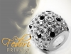 Privato Glitzerbead Shiny Diamonds Glamour 925 Sterling Silber, Zirkonia