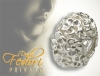 Privato Bead Pure Flower 925 Sterling Silber